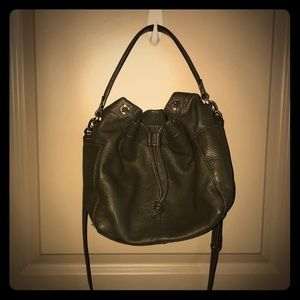 Banana Republic Leather Bucket Bag